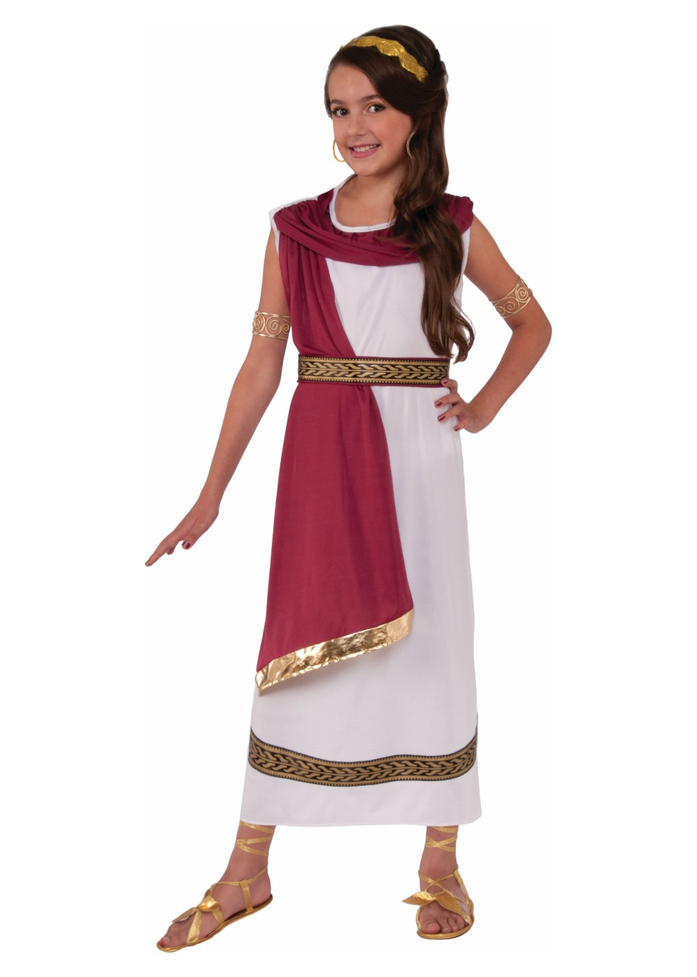 Greek Goddess Girls Costume - Greek Costumes