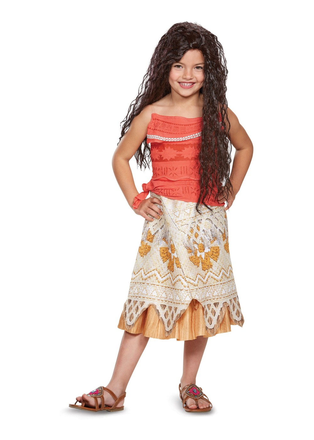 Kids Moana Girls Costume