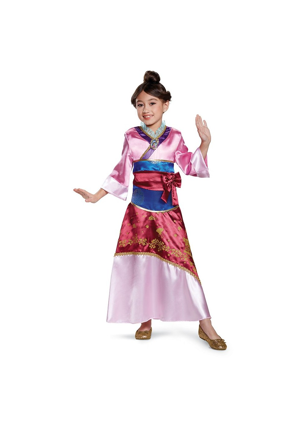 Kids Mulan Girls Costume Deluxe