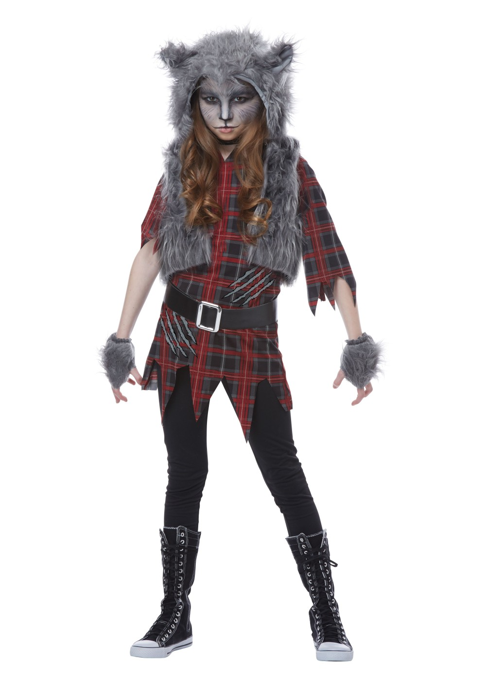 Kids Werewolf Girls Costume