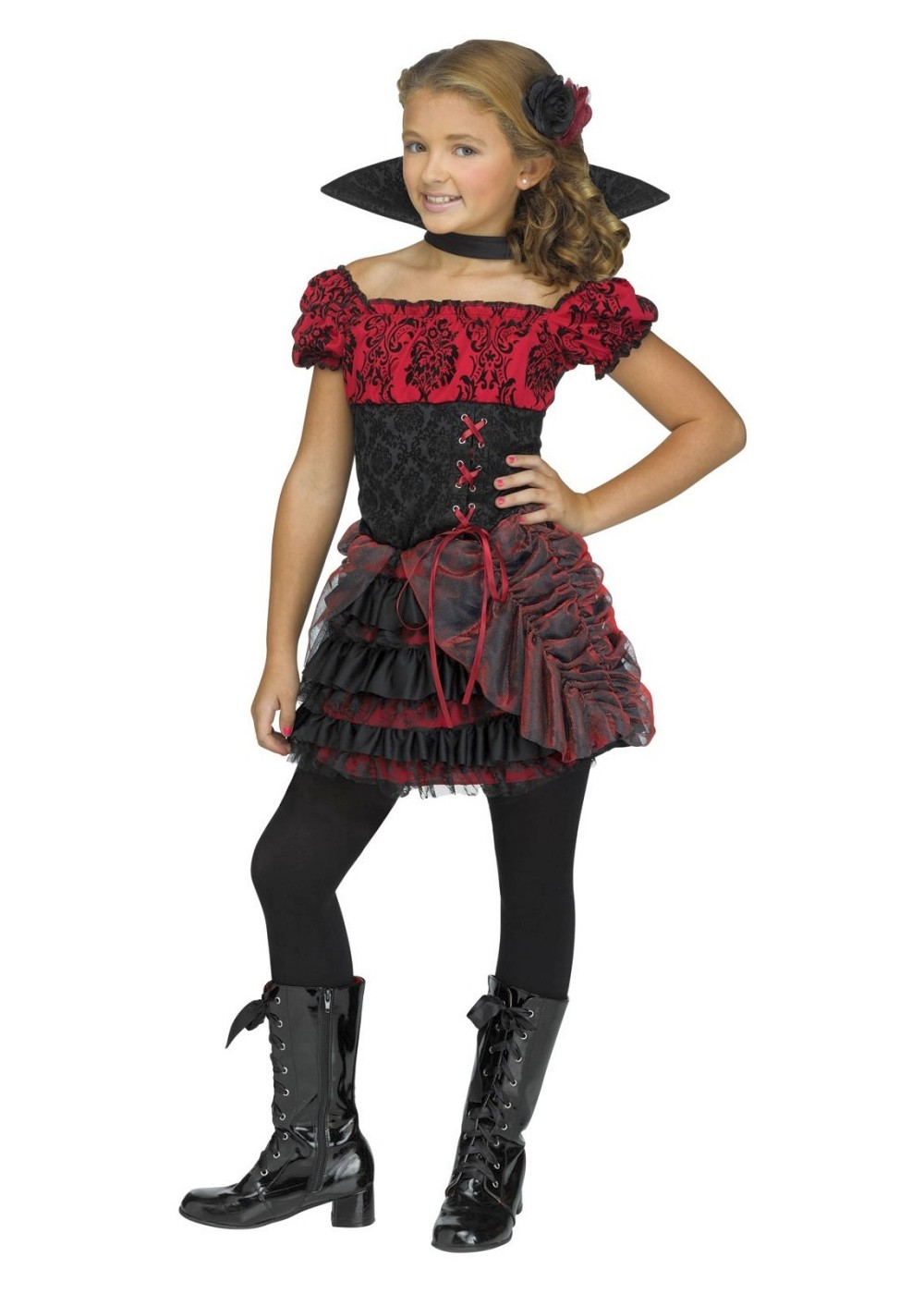 Gothic V&iress Costume  sc 1 st  Wonder Costumes & Vampire Costumes - Boys Girls Women u0026 Men Hallowen Costume