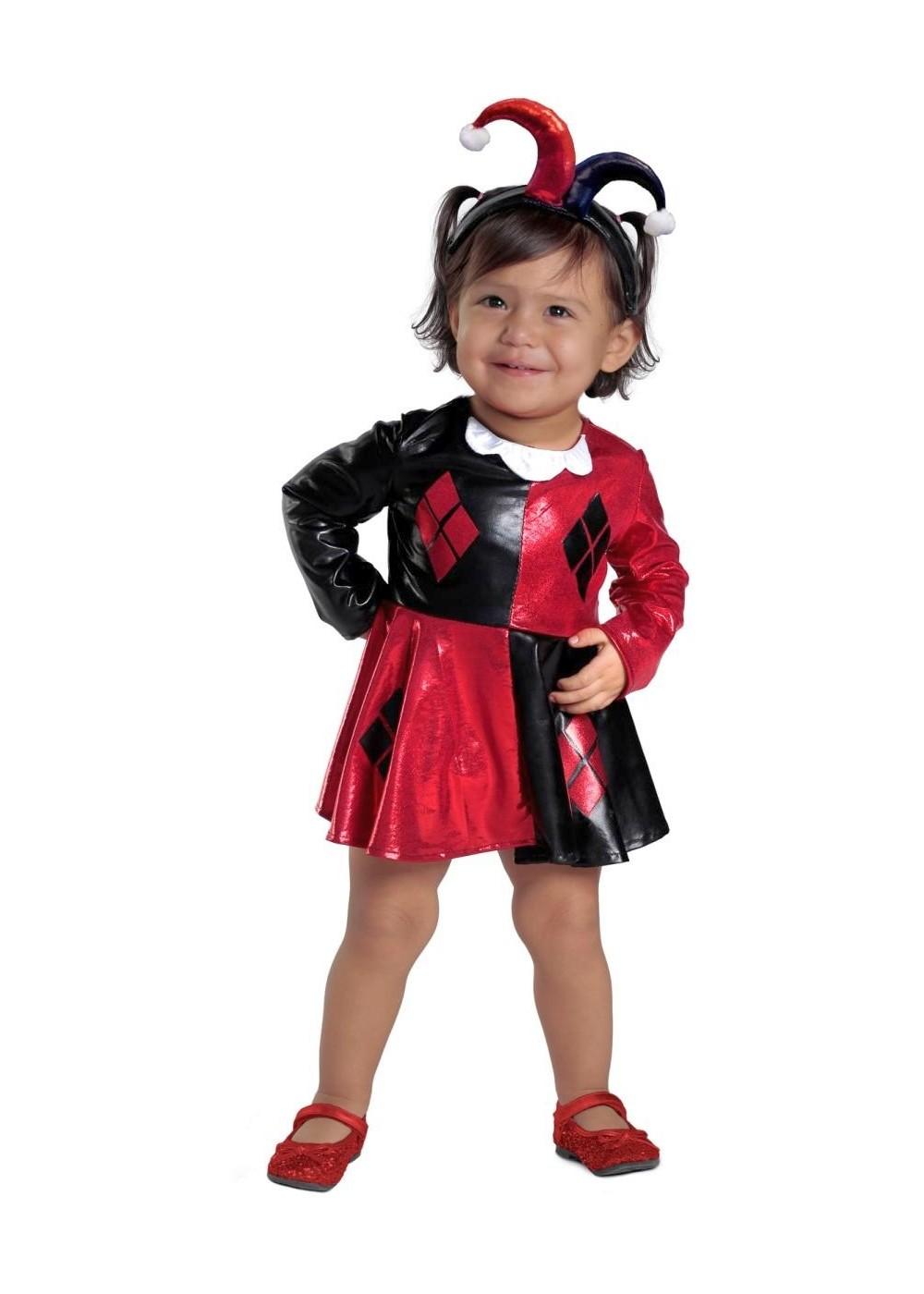 Infant Girls Harley Quinn Costume