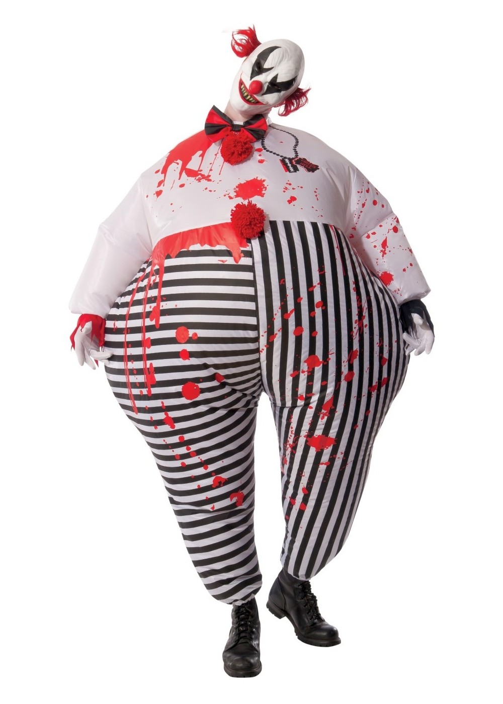 Inflatable Bloody Clown Mens Costume