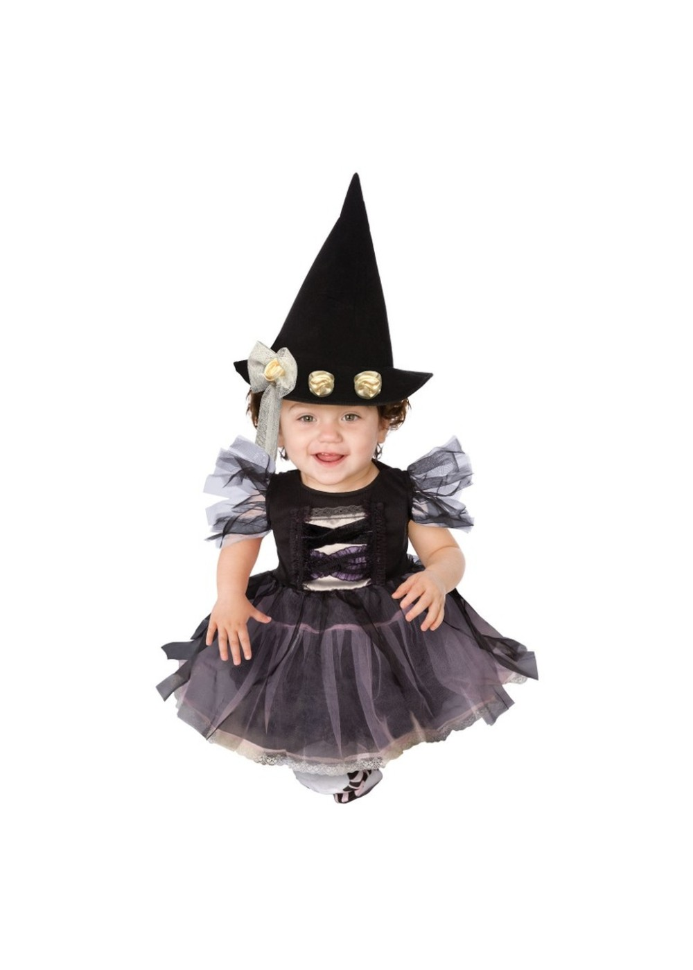 Lace Witch Baby Halloween Costume Girls Witch Costumes