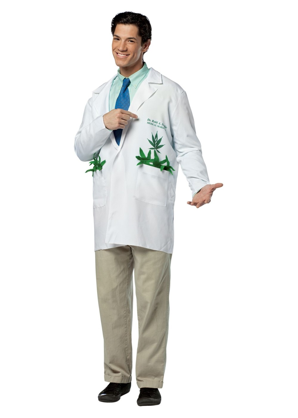 Toddler Girl Witch Costumes: Marijuana Doctor Costume