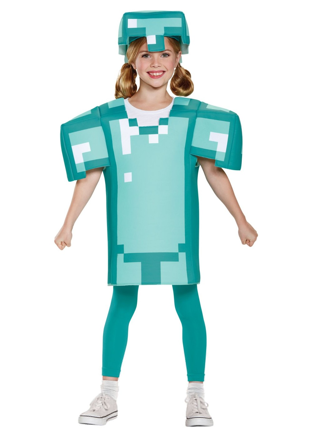 Kids Minecraft Armor Girls Costume