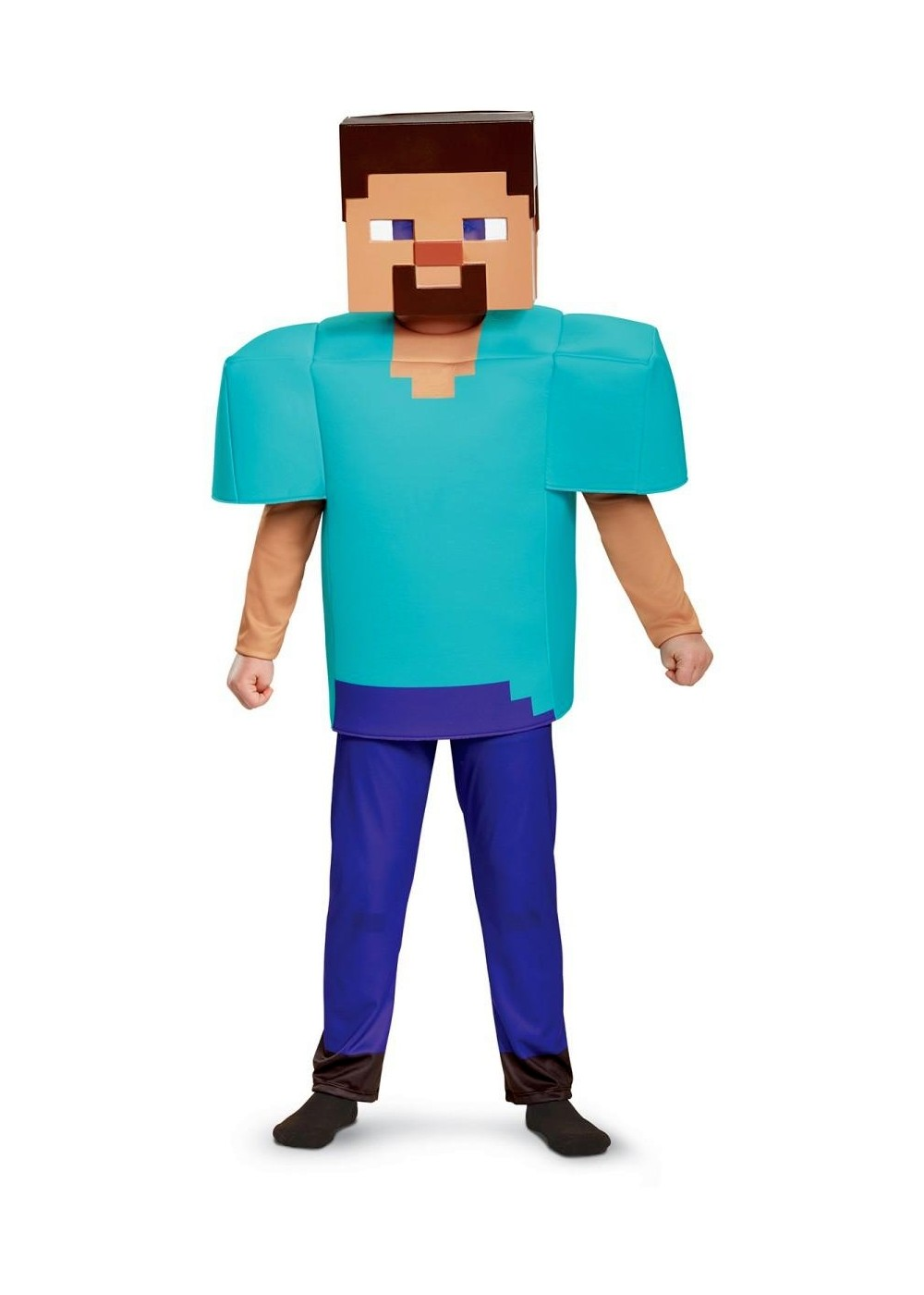 Minecraft Character Steve Boys Costume
