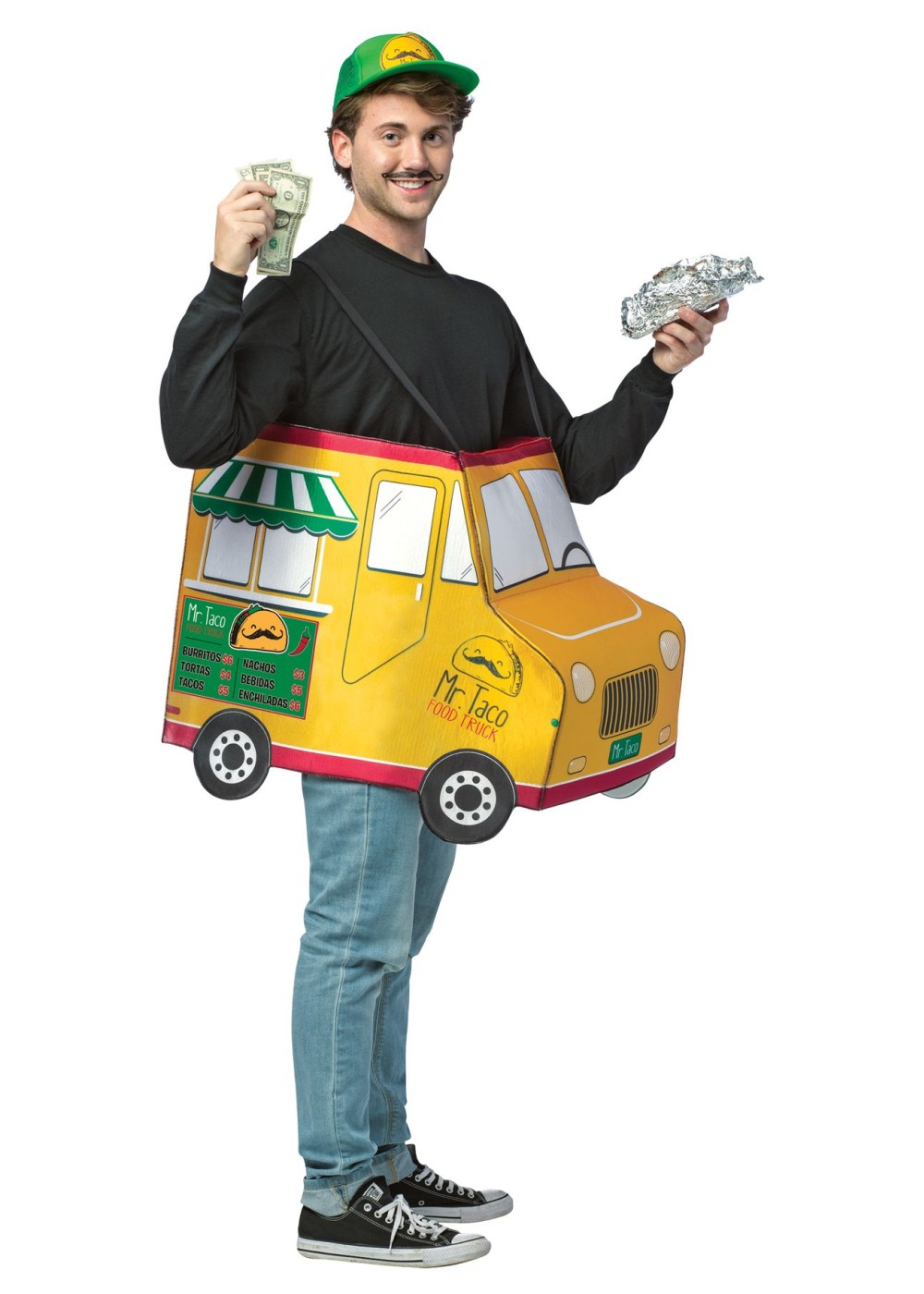Mr Taco Food Truck Mens Costume Funny Costumes