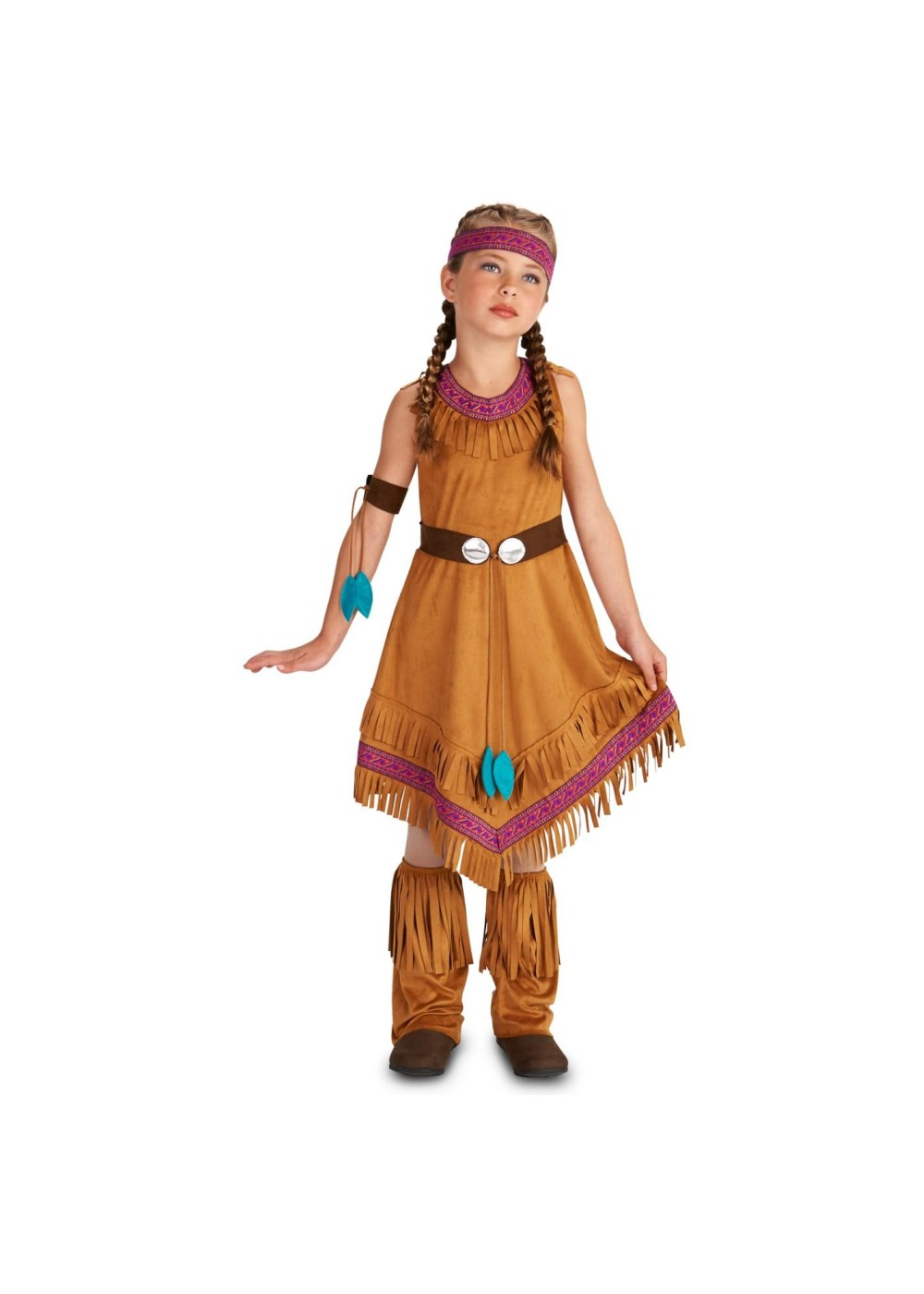 Toddler Girl Witch Costumes: Native American Girls Costume