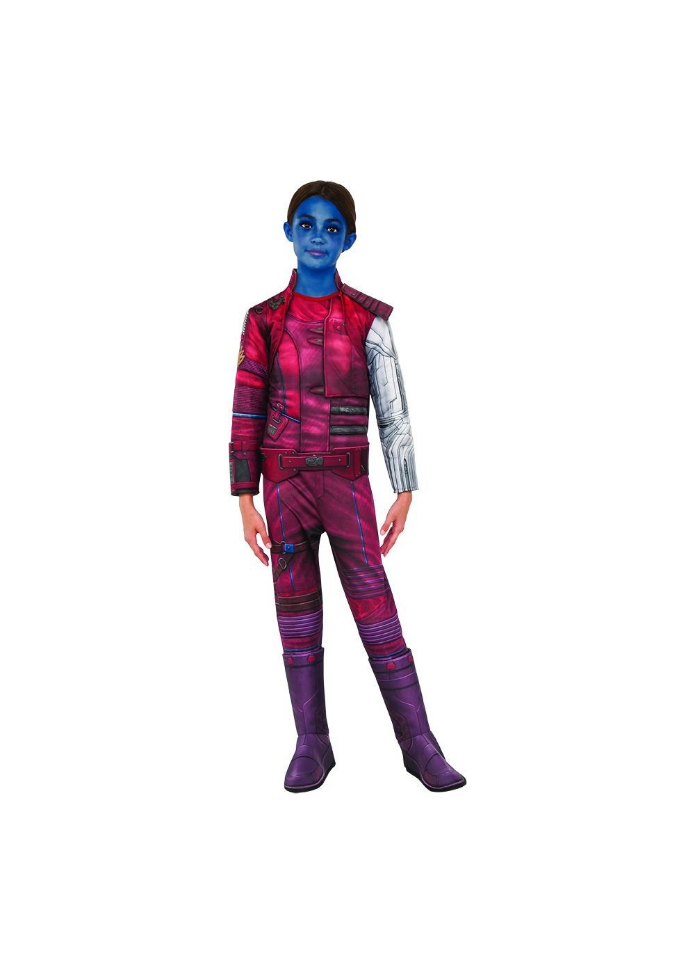Kids Guardians Of The Galaxy Nebula Girls Costume