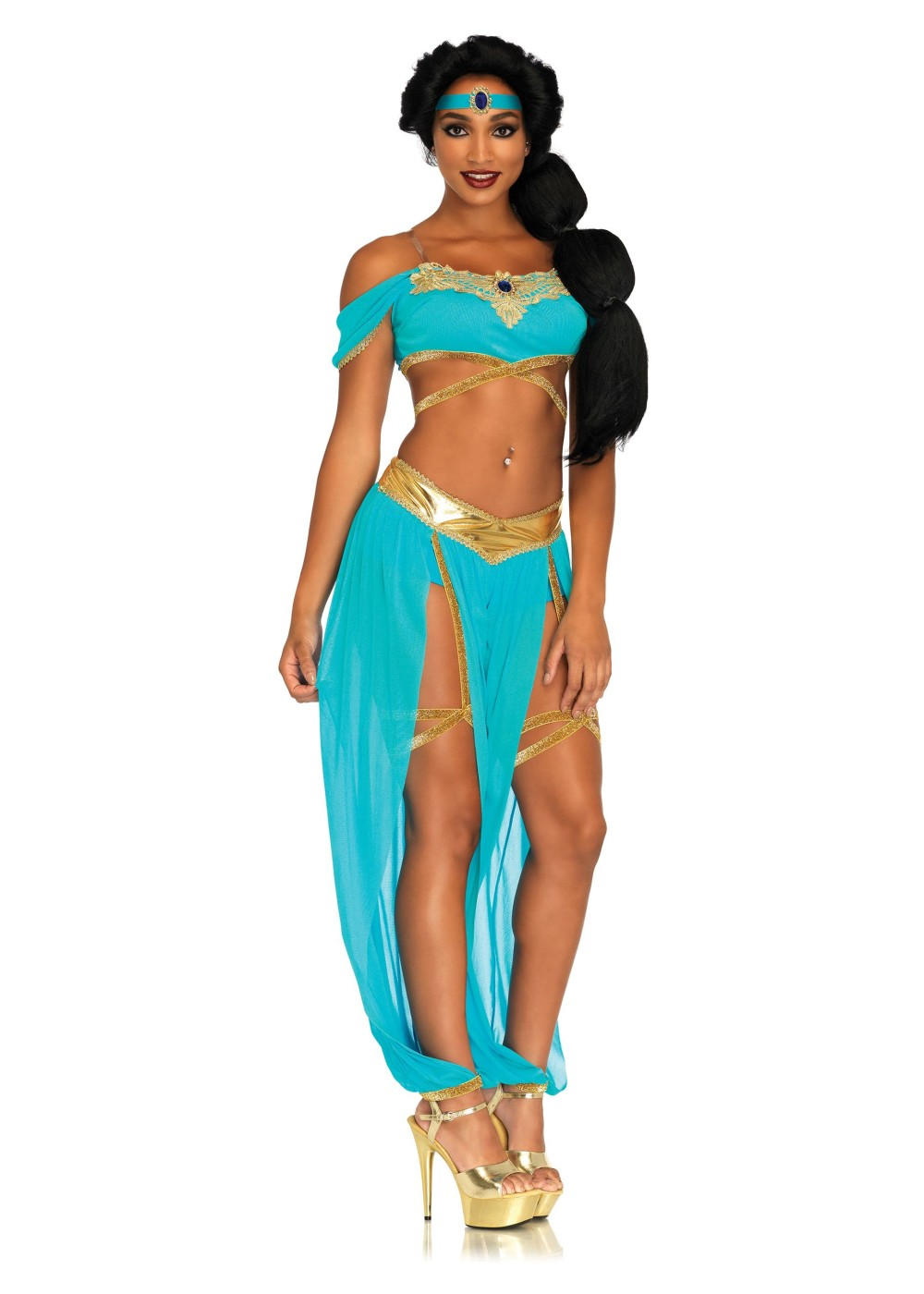 Arabian Princess Women Costume  sc 1 st  Wonder Costumes & Arabian Princess Women Costume - Sexy Costumes