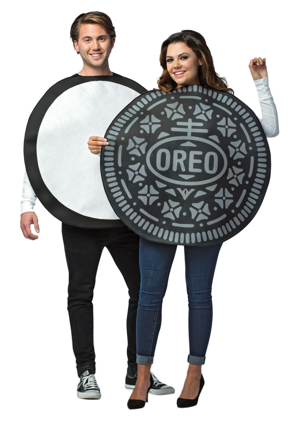 Oreo Cookie Costume For Halloween