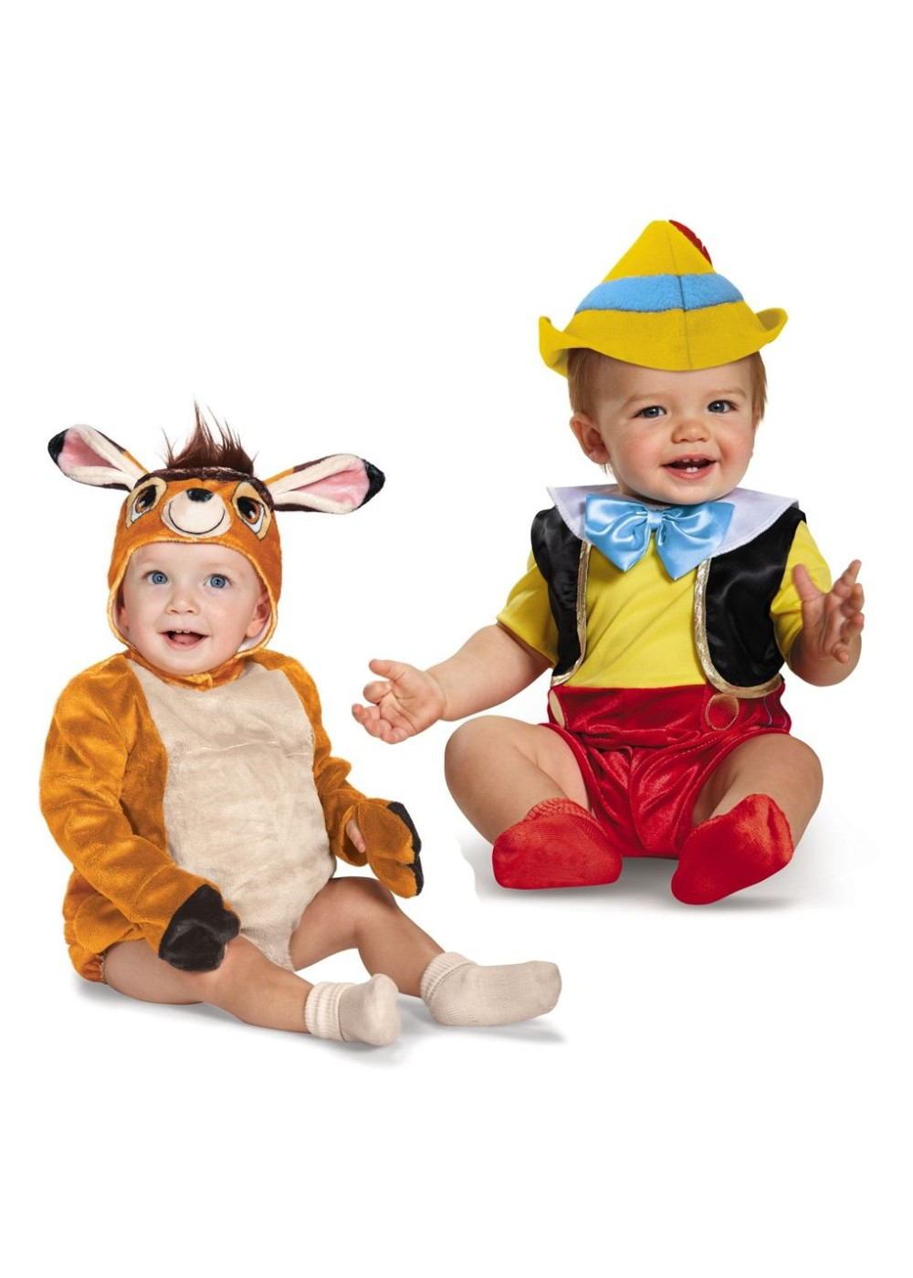 Disney Pinocchio And Bambi Baby Boys Costume Set Disney