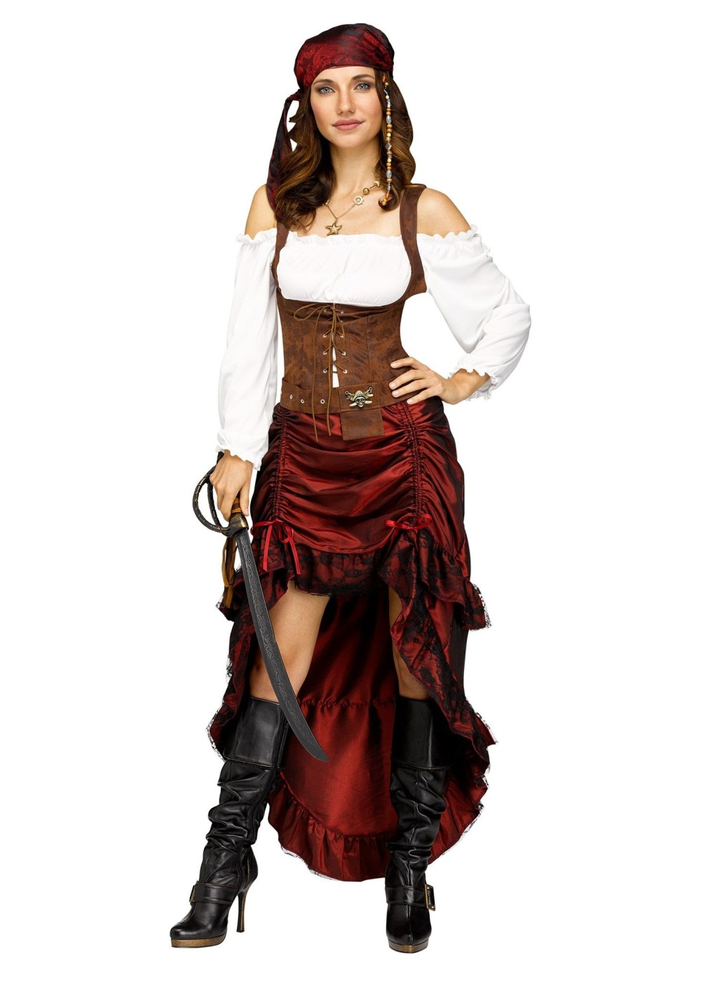 Sexy female pirate costumes