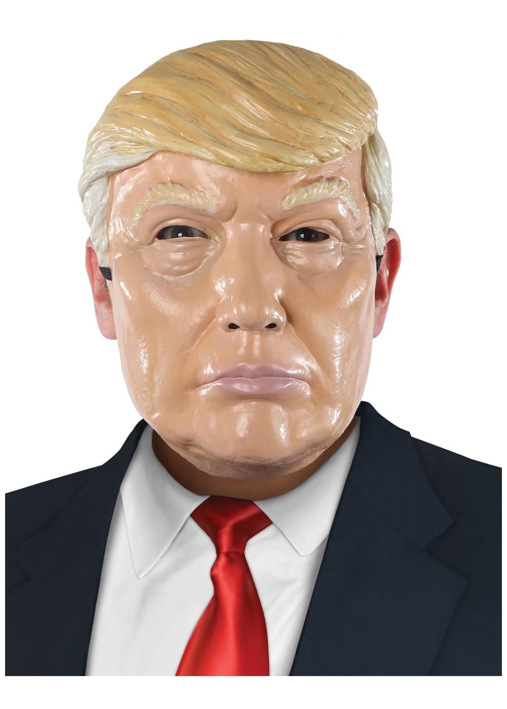 Plastic Donald Trump Mask