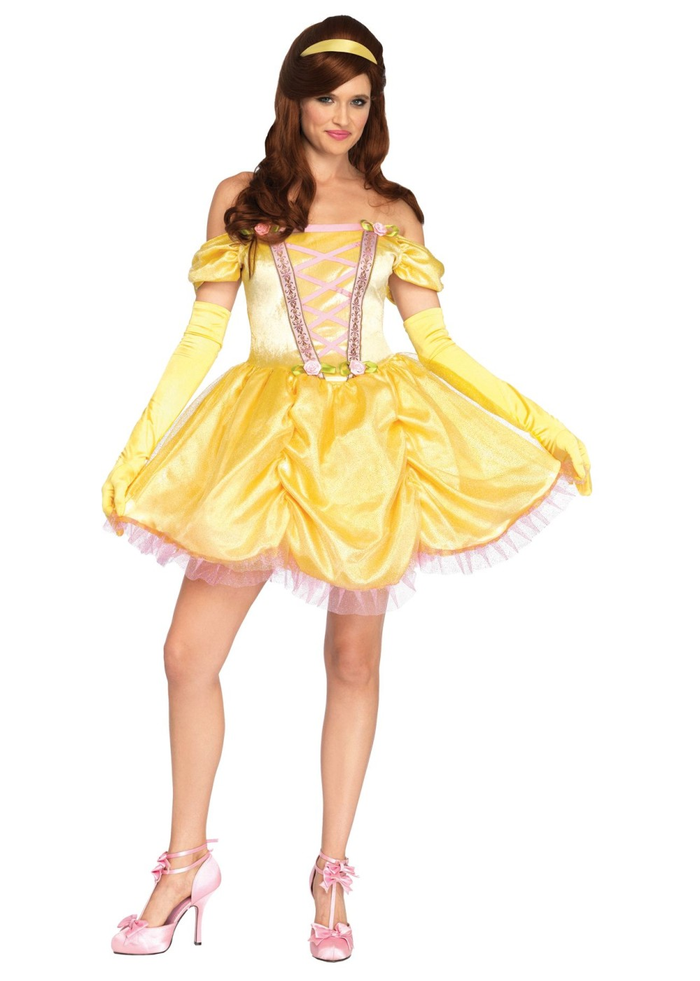 Princess Belle Women Costume