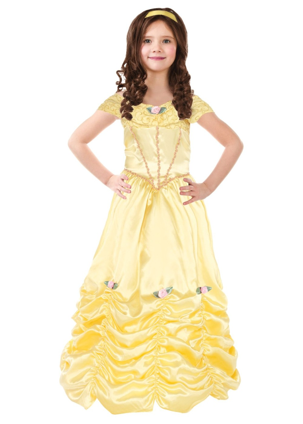 Kids Princess Belle Girls Costume