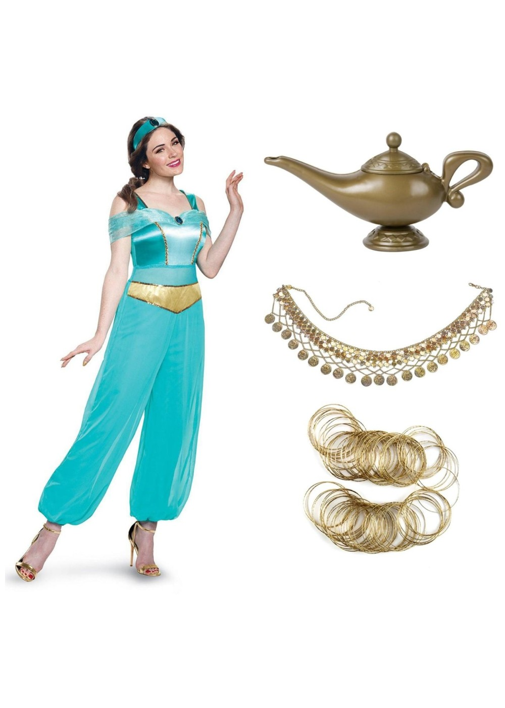 Princess Jasmine Costume Kit  sc 1 st  Wonder Costumes & Princess Jasmine Costume Kit - Accessories