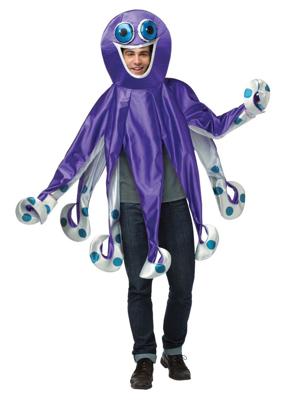 Purple Octopus  Costume
