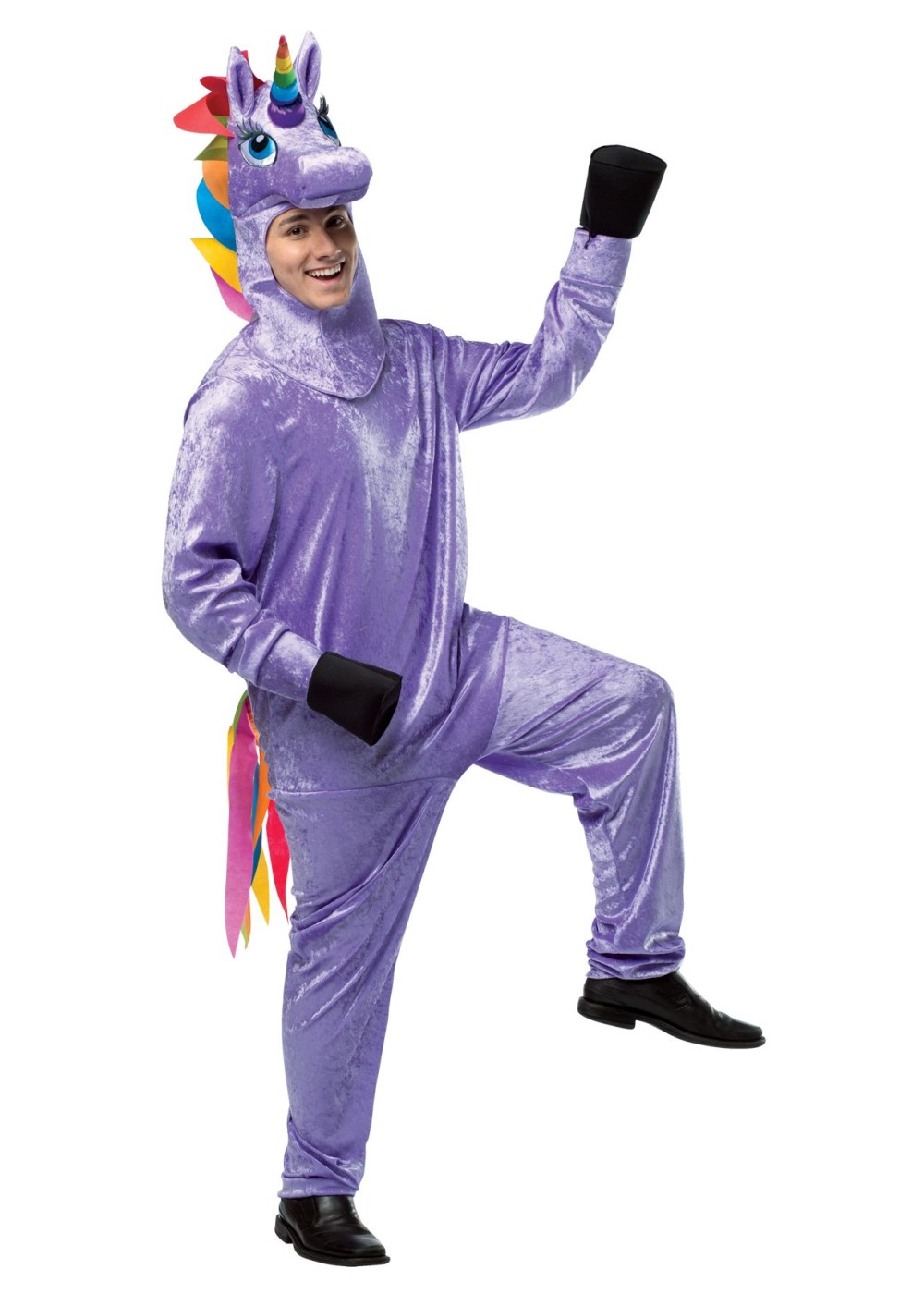 Mens Purple Unicorn Costume Animal Costumes