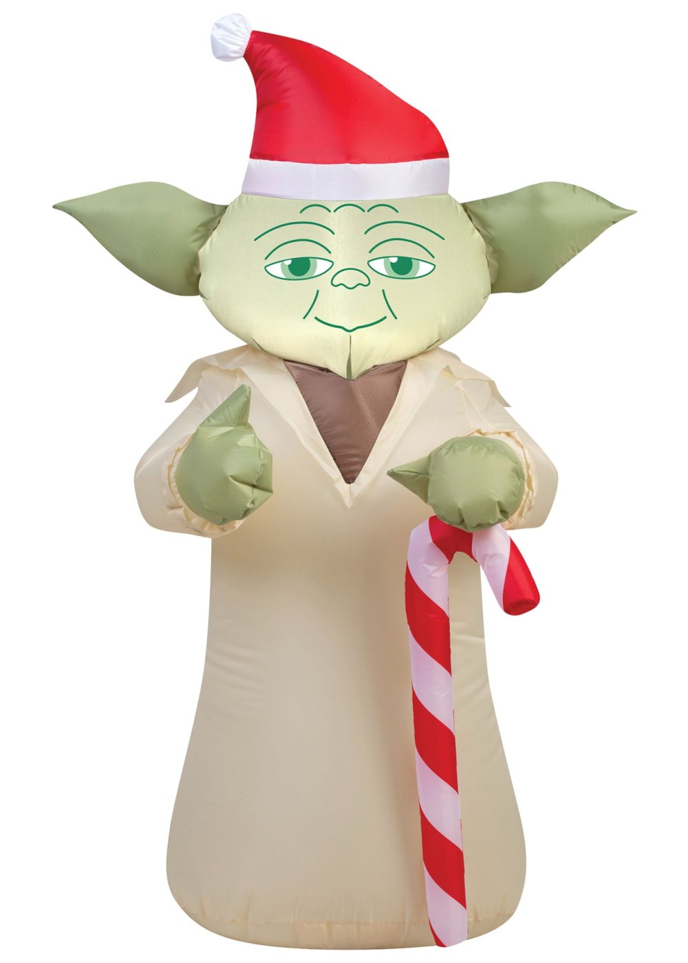 Santa Yoda Airblown Inflatable - Decorations