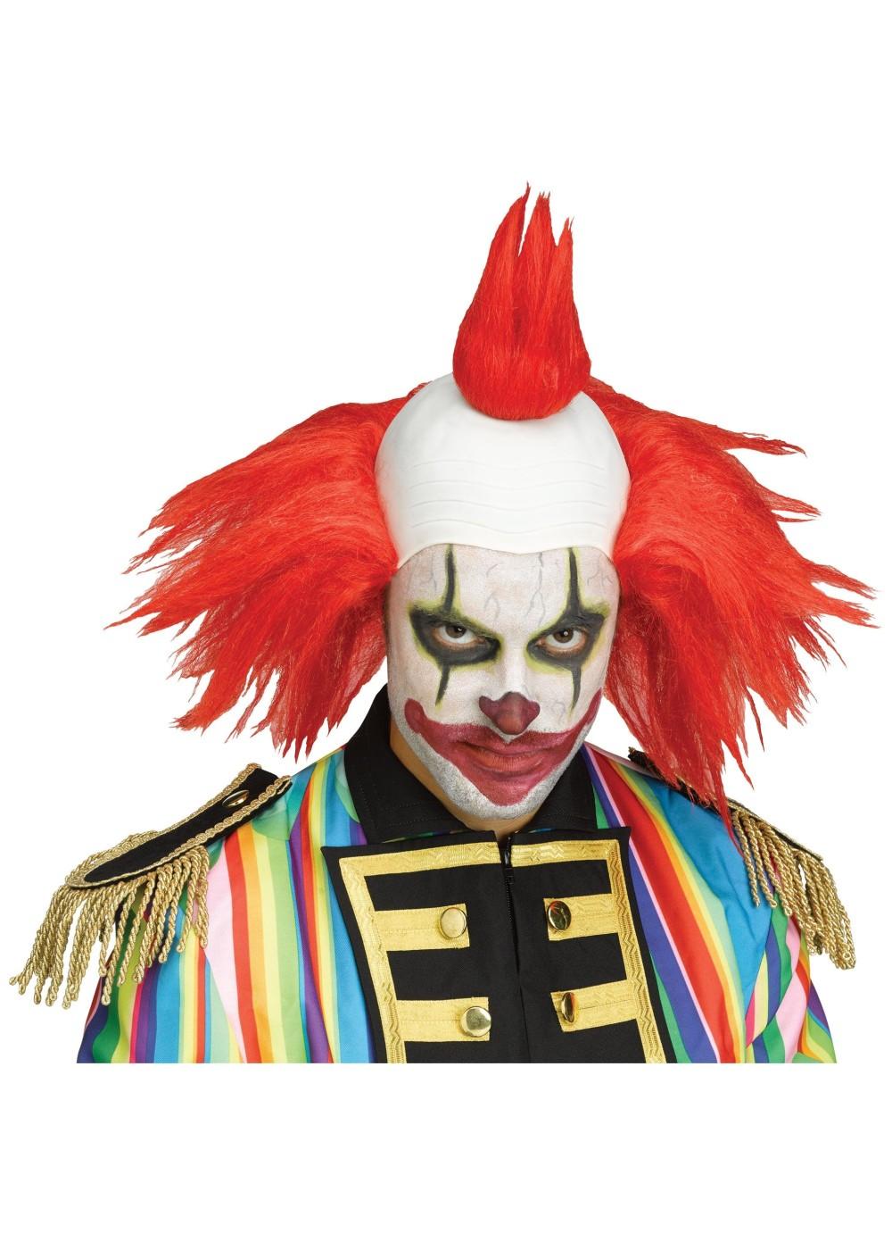 Scary Clown Wig Wigs