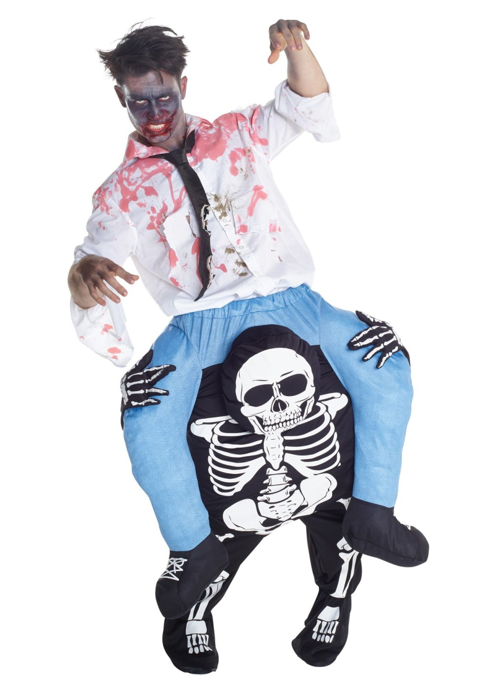 Skeleton Piggyback Costume