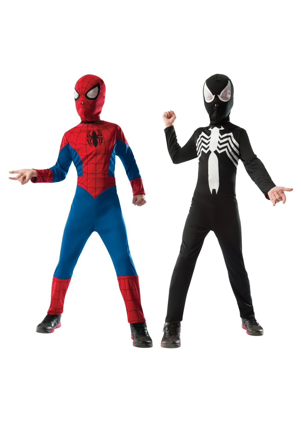 Spiderman Venom Reversible Boys Costume