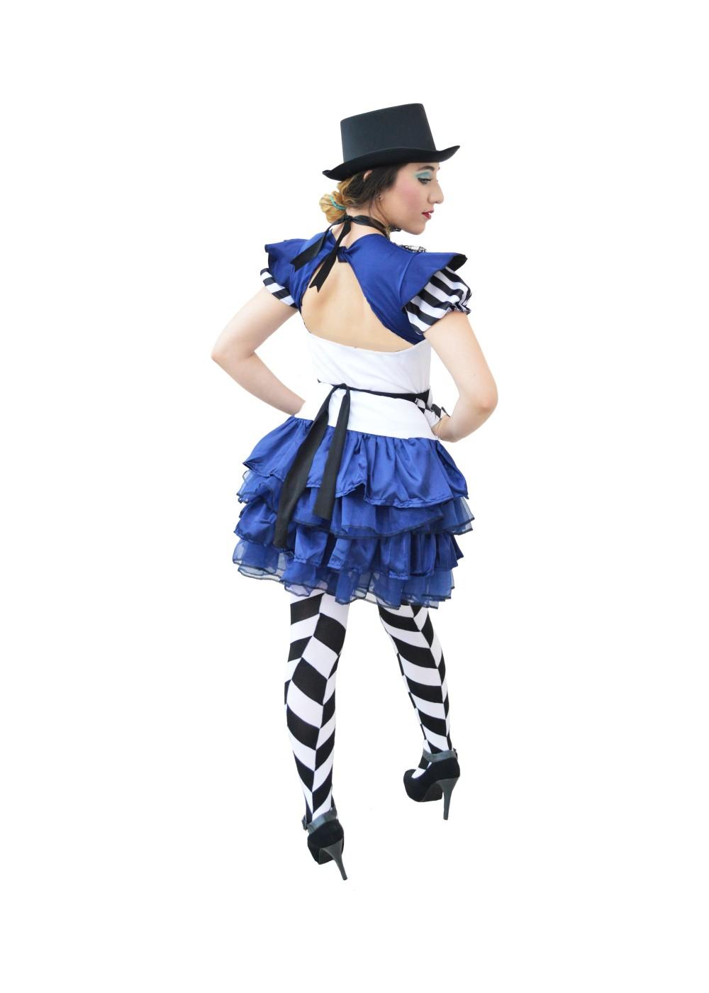 Womens Steampunk Alice Costume Set Steampunk Costumes