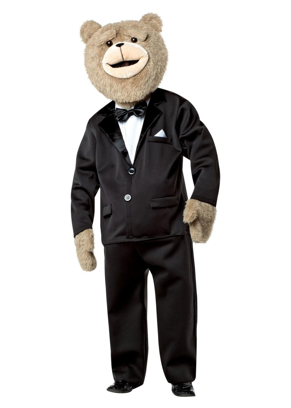 Mens Ted 2 Tuxedo Bear Costume  sc 1 st  Wonder Costumes & Mens Ted 2 Tuxedo Bear Costume - Animal Costumes