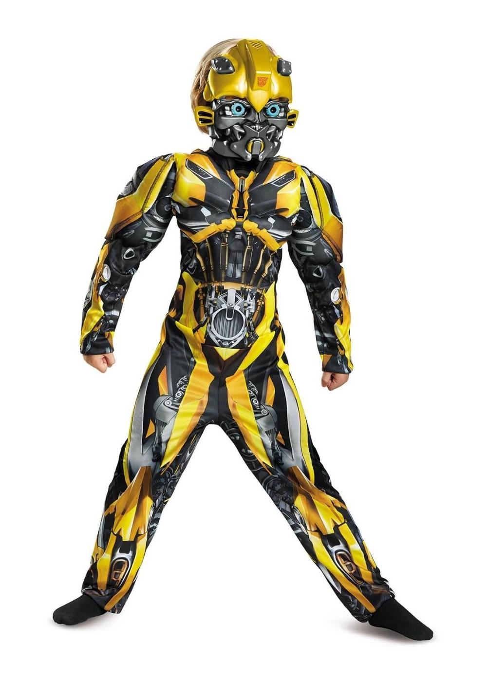 transformers bumblebee boys costume superhero costumes