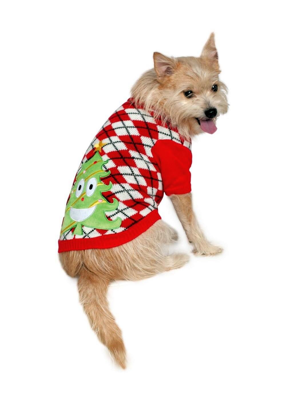 Ugly Christmas Dog Sweater