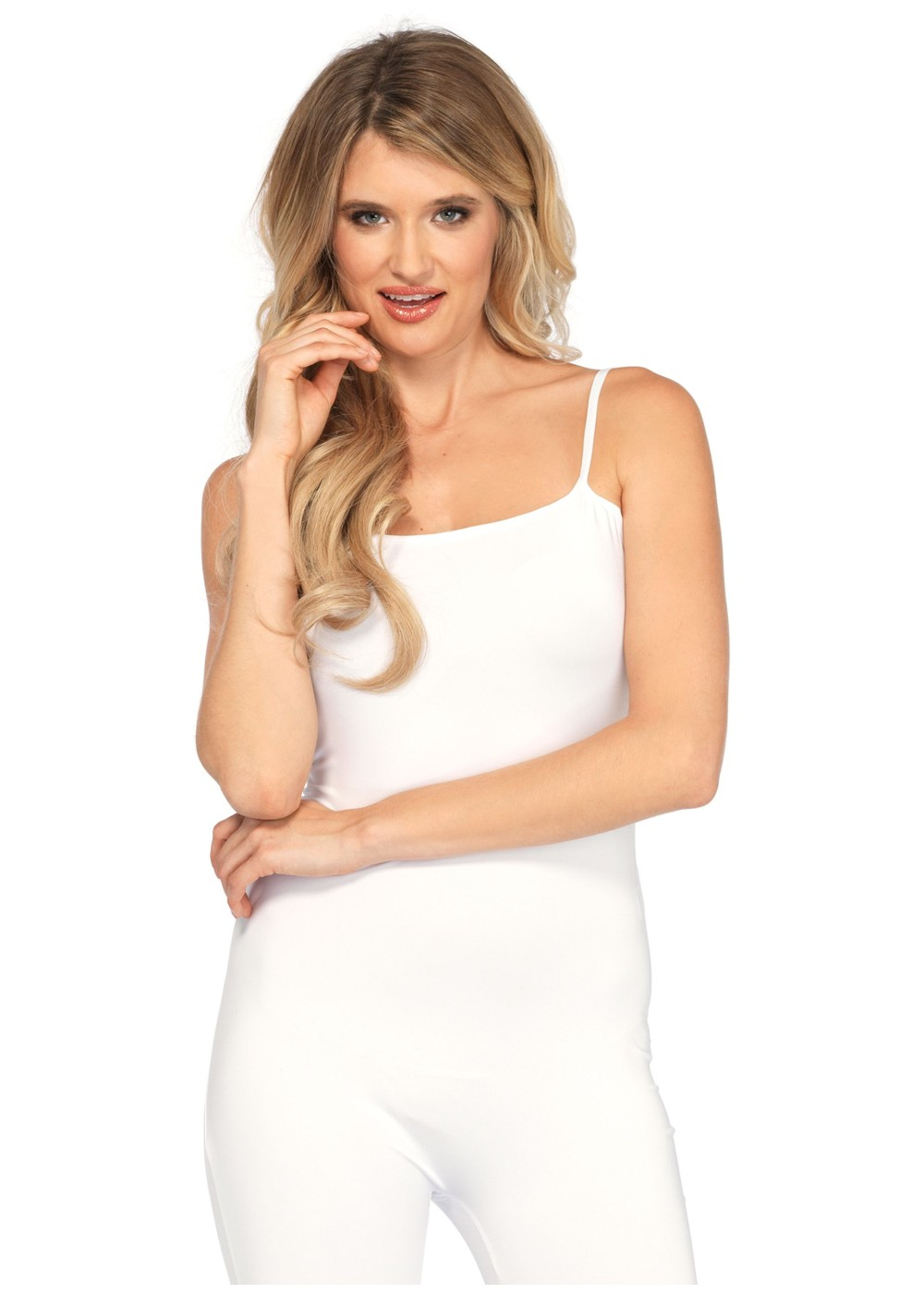 White Basic Unitard Women - Dancewear Costumes