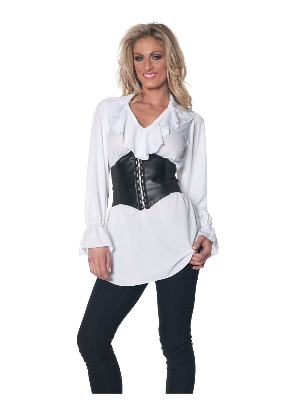 Pirate Ruffle Blouse Costume