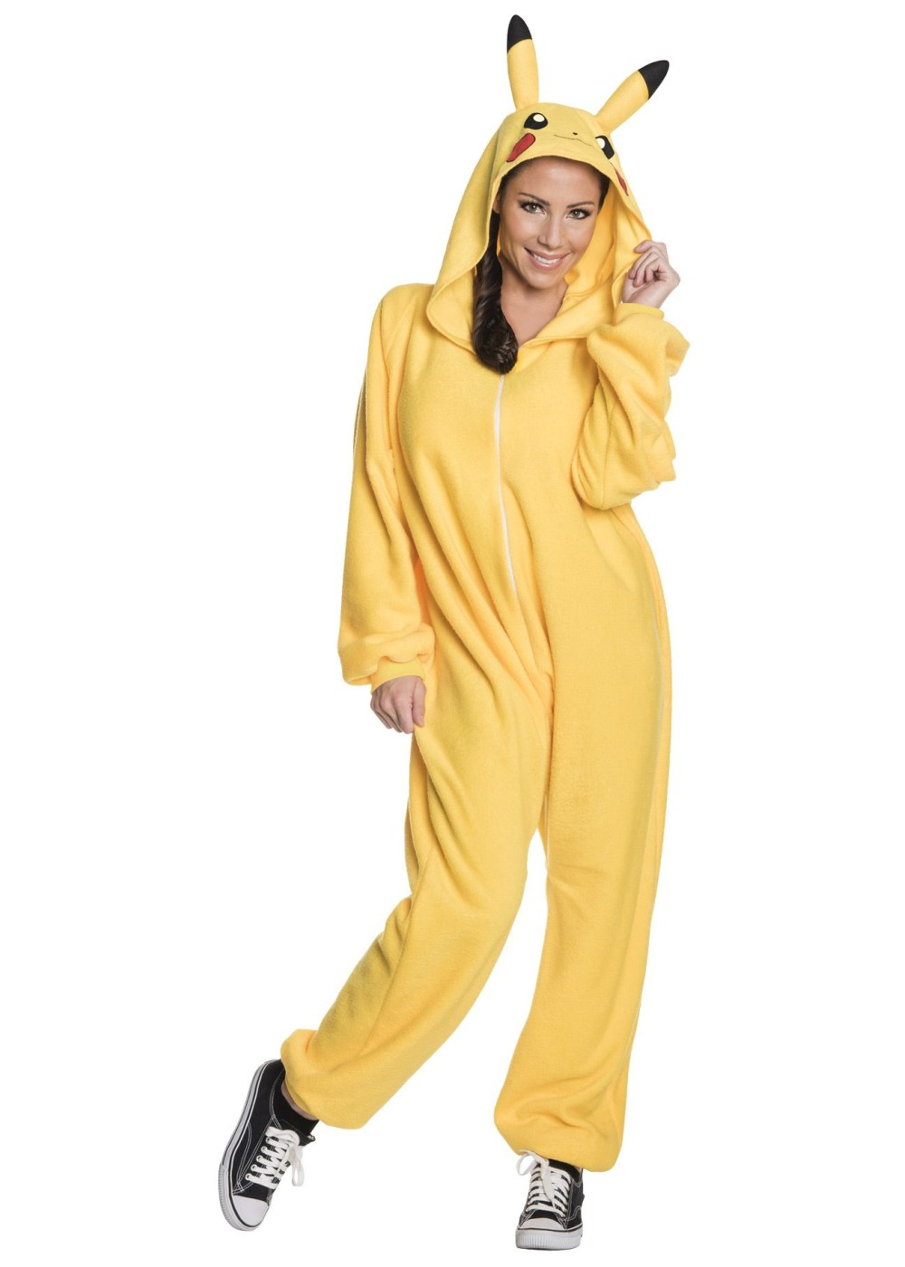 womens pikachu onesie - cosplay costumes