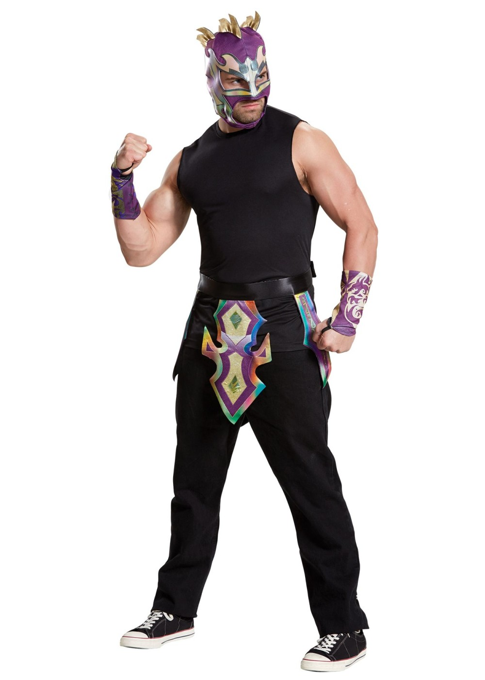 Wwe Kalisto Men Costume - Sports Costumes