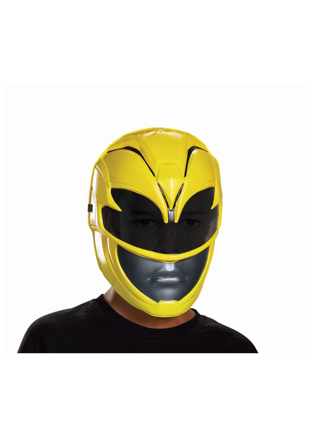 Power Rangers Movie Yellow Boys Mask - Accessories
