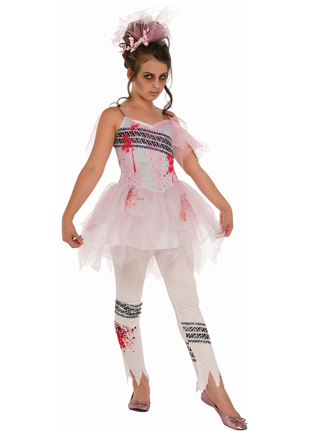 Zombie Ballerina Teen Girls Costume