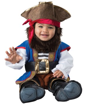 Toddlers Swashbuckler Pirate Costume