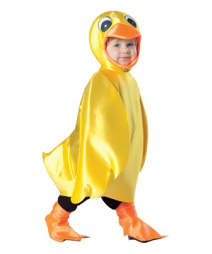 Yellow Ducky Baby Costume