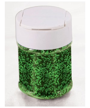 Glitter Decorative Jar