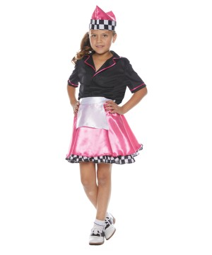 50's Car Hop Girl Costume
