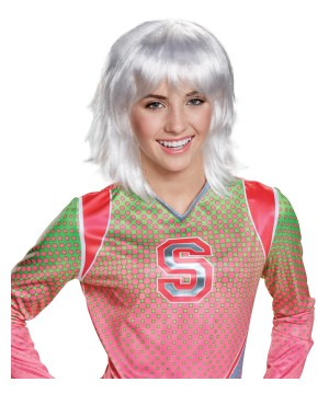 Disney Zombies Addison Platinum Kids Wig