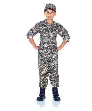 Army Soldier Camo Costume