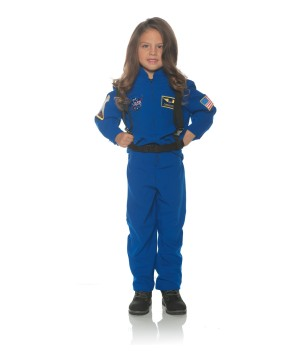 Astronaut Flight Suit Boy Costume
