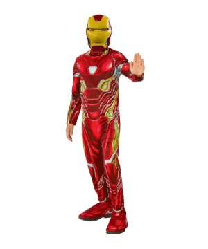 Avengers Iron Man Boys Costume