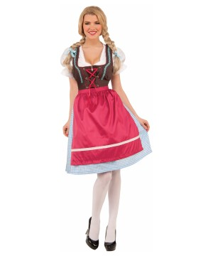 Womens Bavarian Dress Costume