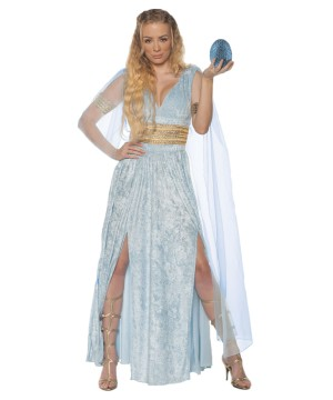 Blue Ice Dragon Queen Costume