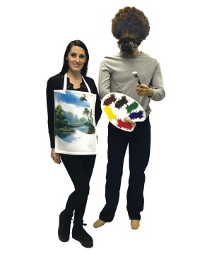 Bob Ross Painting Costume