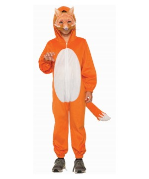 Boys Orange Fox Costume